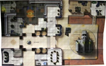Cloud City Map Dci League Promo Star Wars Minis Star