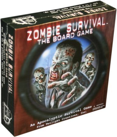 Zombie Survival board game (Twilight Creations) - Board Games A-Z - Board  Game