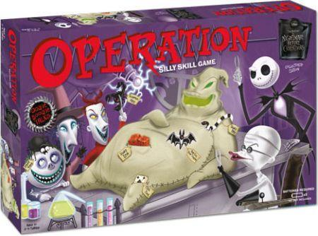 Christmas Operation Game.Operation Nightmare Before Christmas Board Game Usaopoly Board Games A Z Board Game