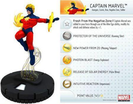 captain marvel heroclix