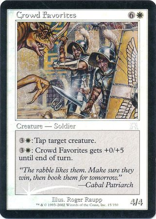 Crowd Favorites Foil Magic MTG Onslaught