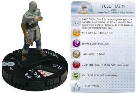 Yusuf Tazim 003 Assassin S Creed Revelations Heroclix