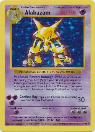 shadowless pokemon cards how to tell
