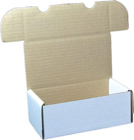 400ct Cardboard Box For Card Storage (1 BX 400) (BCW)