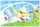 Pokemon Southern Islands Sky Postcard