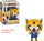 Aggretsuko Rage 23 POP Vinyl Figure Includes Protector Aggretsuko