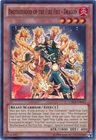 Brotherhood of the Fire Fist Dragon CBLZ EN025 Super Rare Unlimited