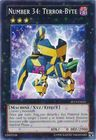 Number 34 Terror Byte SP13 EN025 Starfoil Rare Unlimited