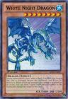 White Night Dragon BP02 EN083 Mosaic Rare 1st Edition