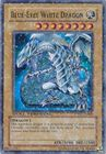 Blue Eyes White Dragon DT01 EN001 Super Parallel Rare