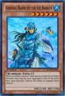 General Raiho of the Ice Barrier BPW2 EN039 Super Rare 1st Edition