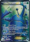 Heracross EX 105 111 Full Art Ultra Rare