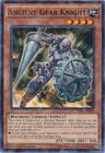 Ancient Gear Knight BP03 EN033 Shatterfoil Rare 1st Edition
