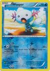 Wooper 21 116 Common Reverse Holo