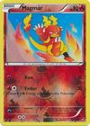 Magmar 10 111 Common Reverse Holo