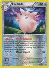 Clefable 98 135 Rare Reverse Holo