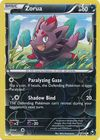 Zorua 70 108 Common Reverse Holo