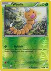 Weedle 1 160 Common Reverse Holo