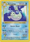Dewgong 25 102 Uncommon 1st Edition