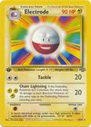 Electrode 18 64 Rare 1st Edition Base Set Art Misprint
