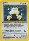 Snorlax 11 64 Holo 1st Edition