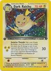 Dark Raichu 83 82 Holo 1st Edition