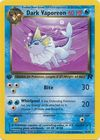 Dark Vaporeon 45 82 Uncommon 1st Edition