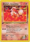 Blaine s Growlithe 62 132 Common 1st Edition