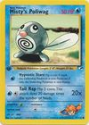 Misty s Poliwag 87 132 Common 1st Edition