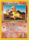 Blaine s Charmander 60 132 Common 1st Edition