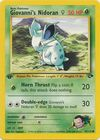 Giovanni s Nidoran F 75 132 Common 1st Edition