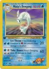Misty s Dewgong 54 132 Uncommon 1st Edition