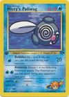 Misty s Poliwag 89 132 Common 1st Edition