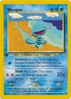 Wooper 82 111 Common 1st Edition