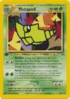 Metapod 42 75 Uncommon 1st Edition