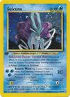 Suicune 14 64 Holo 1st Edition
