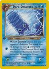 Dark Omanyte 37 105 Uncommon 1st Edition