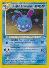Light Azumarill 13 105 Holo 1st Edition