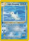 Light Dewgong 45 105 Uncommon 1st Edition