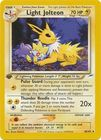 Light Jolteon 48 105 Uncommon 1st Edition