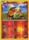 Growlithe 10 122 Common Reverse Holo