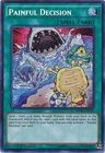 Painful Decision MP16 EN151 Secret Rare 1st Edition