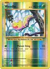 Weedle 5 108 Common Reverse Holo
