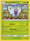Butterfree 3 149 Rare
