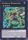 Zoodiac Broadbull RATE EN051 Secret Rare 1st Edition