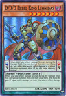 D D D Rebel King Leonidas MP16 EN173 Super Rare Unlimited