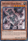 Ancient Gear Beast SR03 EN007 Common 1st Edition