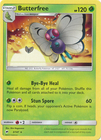 Butterfree 3 147 Rare