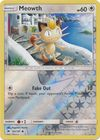 Meowth 101 147 Common Reverse Holo