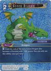 Green Dragon 4 124C Common Foil